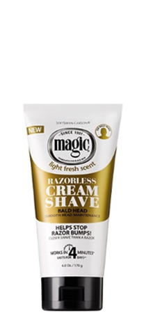 SoftSheen Carson - RAZORLESS CREAM SHAVE SMOOTH FOR BALD HEAD MAINTENANCE