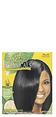 Soft and Beautiful Botanicals No-Lye Sensitive Scalp Relaxer Regular