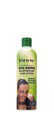 Texture my Way Curl Keeper Moisturizing Hair Lotion 12 fl oz