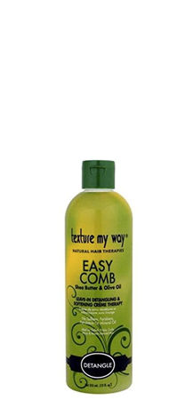 Texture my Way Easy Comb Leave-In Detangling and Softning Creme Therapy 12 fl oz