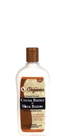 Ultimate Organics Cocoa and Shea Butter Body Lotion 12 oz