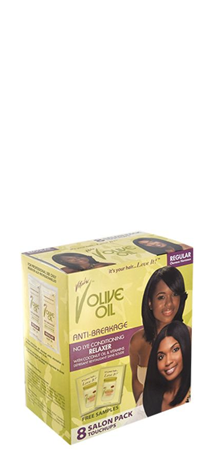 Vitale Olive Oil No Lye Relaxer kit 8 touchups