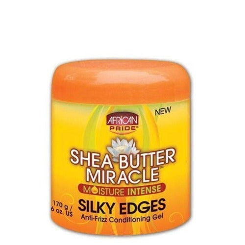 African Pride - Shea Miracle Moisture Intense Silky Edges 6 oz