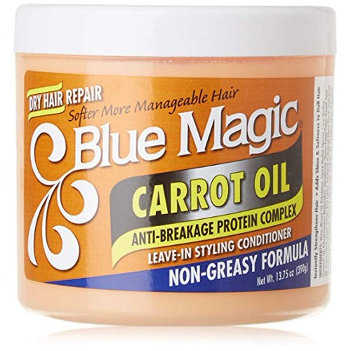 Blue Magic - Carrot Oil Leave-In Styling Conditioner 13.75 oz