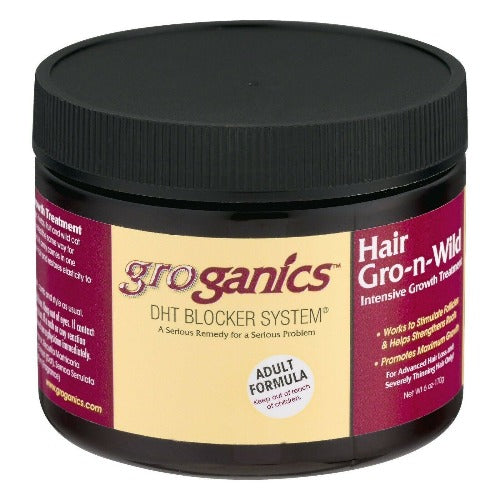 Groganics - Hair Gro-N-Wild Conditioning Creme 6 oz