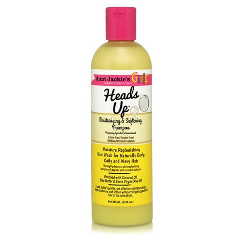 Aunt Jackie's - Girls Heads Up Moisturizing & Softening Shampoo 12 fl oz