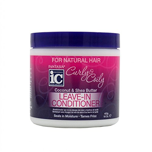 Fantasia IC - Curly and Coily Coconut and Shea Butter Leave-In Conditioner 16 oz