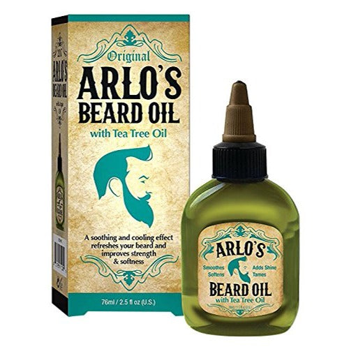 Arlo's - Beard Oil with Tea Tree Oil 2.5 fl oz