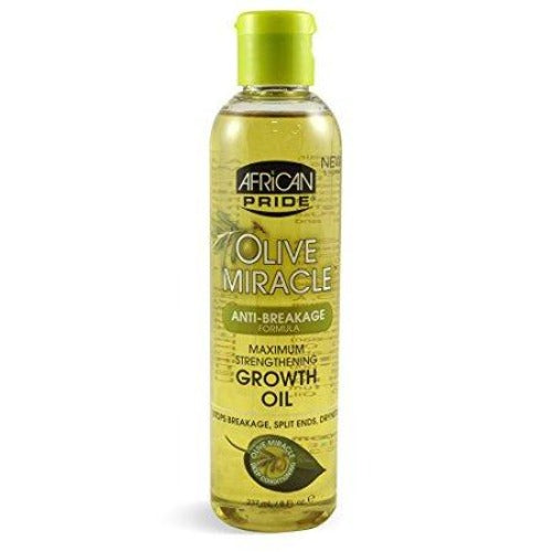 African Pride - Olive Miracle Maximum Strengthening Growth Oil 8 fl oz