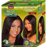 African Pride - 8 Pack Relaxer Kit Super