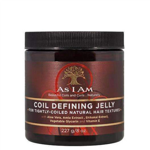 As I Am - Coil Defining Jelly 8 oz