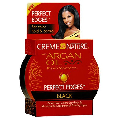 Creme of Nature - Argan Oil Perfect Edges Black 2.25 oz