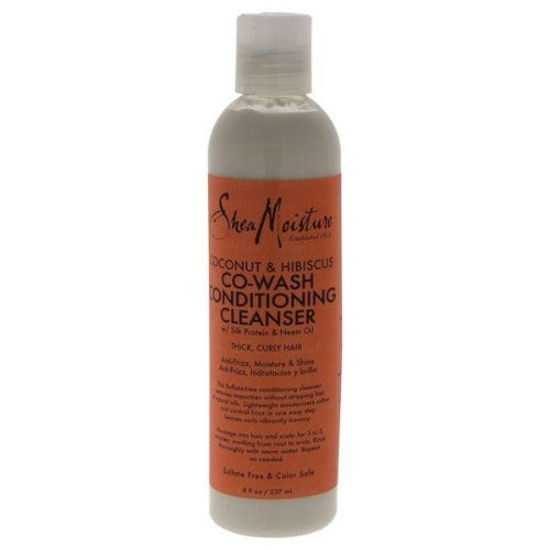 Shea Moisture - Coconut & Hibiscus Co-Wash Conditioning Cleanser 8 oz