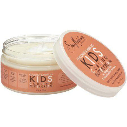 Shea Moisture - Coconut & Hibiscus Kids Curling Butter Cream for Thick Hair 6 oz