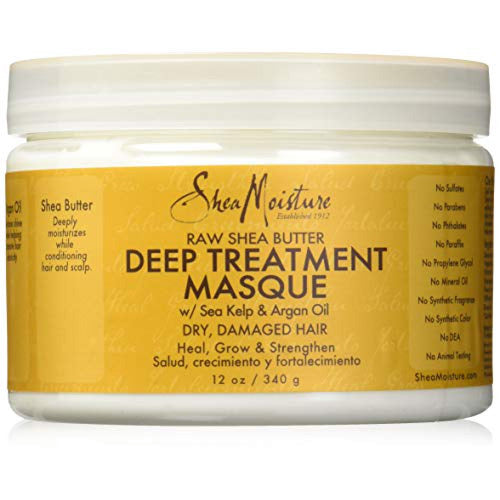 Shea Moisture - Raw Shea Butter Deep Treatment Masque 12 oz