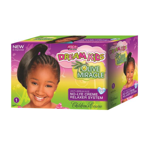 African Pride - Dream Kids Children's Coarse No-Lye Relaxer 1 App 1.5 oz