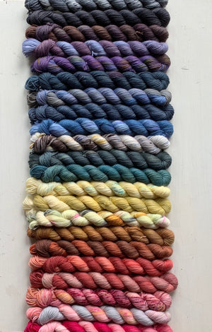 Little Ladies -Mini- sock weight yarn