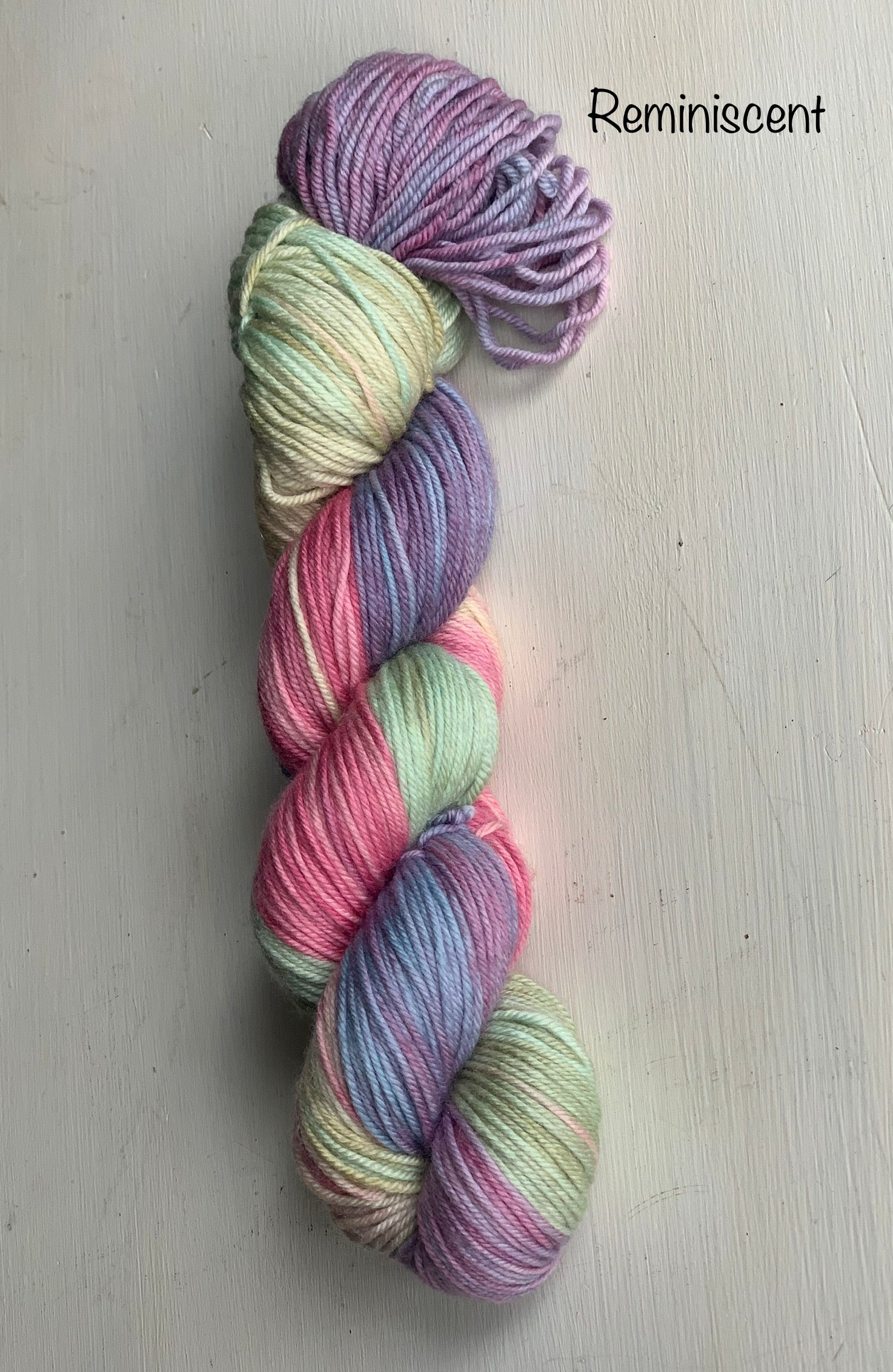 Meander DK weight yarn