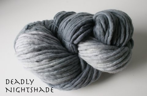 Bolshoy Single Ply Merino Super Bulky Yarn