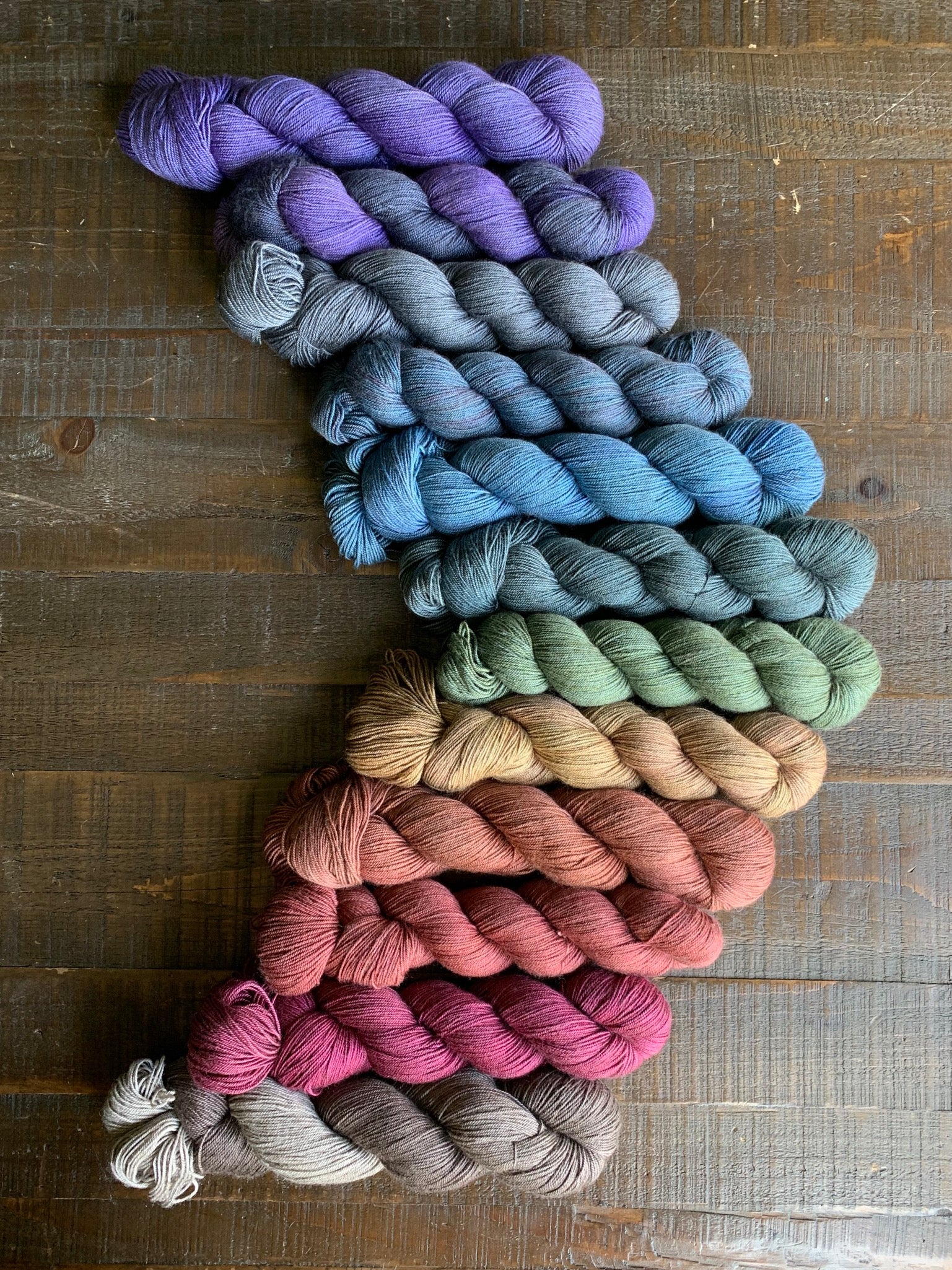 Nomad - Superwash Merino/Yak/Silk Fingering Weight Yarn
