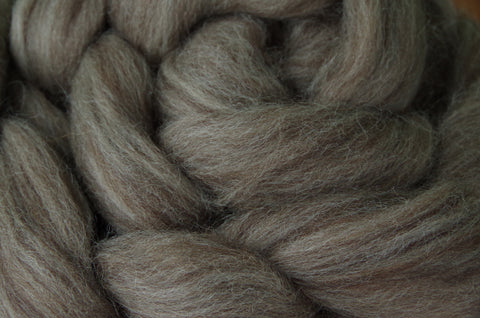 Ashland Bay Black BFL Combed Top Spinning Fiber