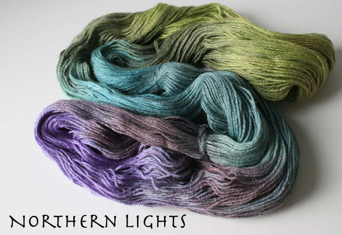 Over the Moon - Superwash BFL Wool/Silk Fingering Weight Yarn