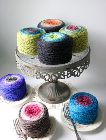 Tea Cakes Sock Yarn