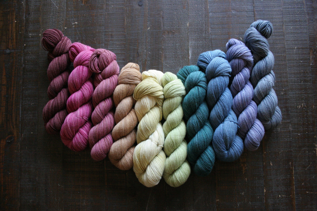 Walk About - Fingering Wright yarn