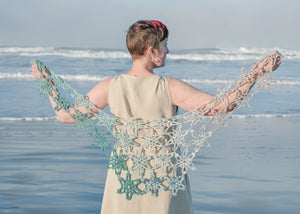 The Sun and Fog Collection Winter 2021- Sea Star Shawl Kit