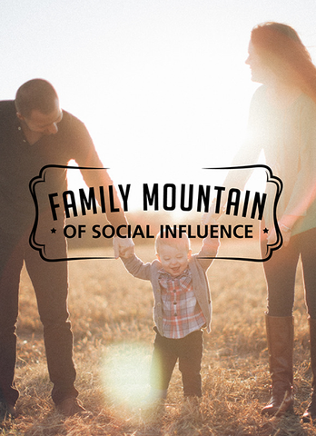 Family Mountain of Social Influence