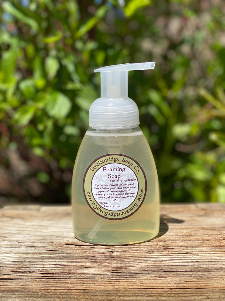 Foaming Soap, Rosemary Spearmint
