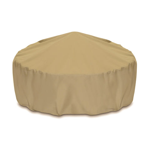 "Two Dogs Designs -  2D-FP48005 - 48"" Fire Pit Cover (Khaki) - Two Dogs Designs"