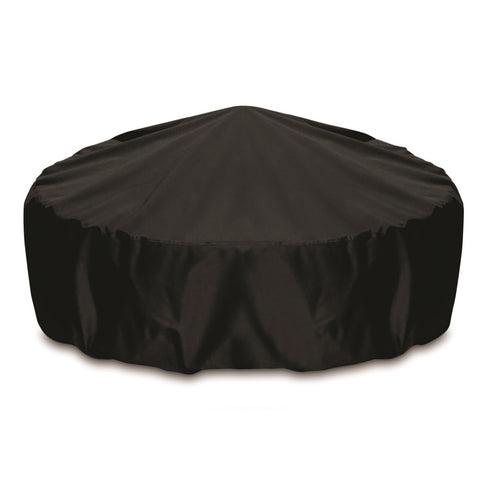 "Two Dogs Designs - 2D-FP60001 - 60"" Fire Pit Cover (Black) - Two Dogs Designs"