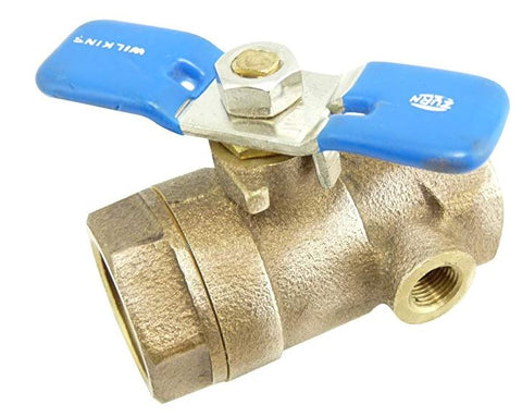 "Wilkins - 34-850T 3/4"" Tapped Ball Valve"