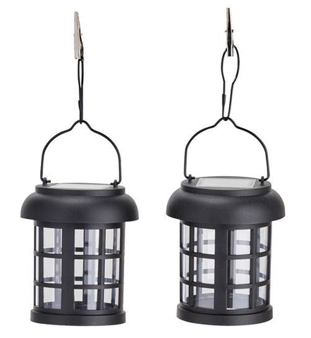 Smart Living Home and Garden - 3782WRM2 - Umbrella Hanging Solar Lanterns - 2 pack - Smart Living Home and Garden
