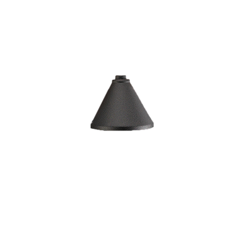 Vista Outdoor Lighting - SL-4250-B-NL - Wall Mount Step Light, Black, Fixture Has NO LAMP - Vista Outdoor Lighting
