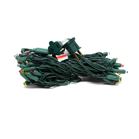 "Seasonal Source - 45617R-B - LED 5MM Professional Grade String Lights, Multicolored, 70 Bulbs, 4"" Spacing - Seasonal Source"