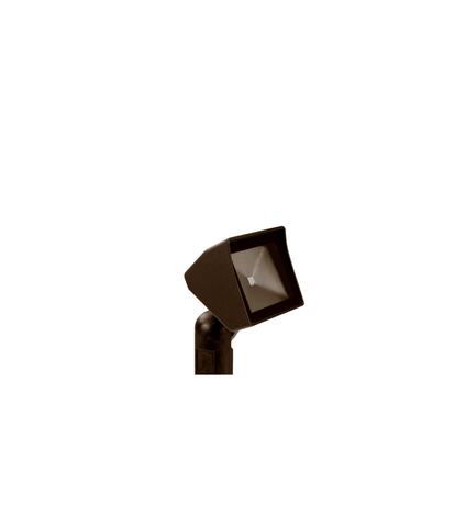 Vista Outdoor Lighting - GR-5105-DZ-2-W-FR - 5105 Aluminum Mini Area Light, Dark Bronze, Warm, Frosted Lens - Vista Outdoor Lighting