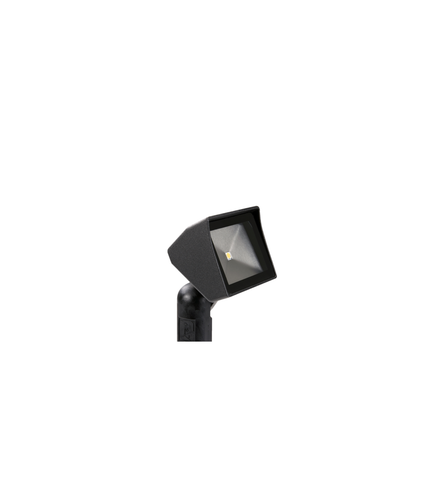Vista Outdoor Lighting - GR-5105-B-3-W-FR - 5105 Aluminum Mini Area Light, Black, Warm, Frosted Lens - Vista Outdoor Lighting