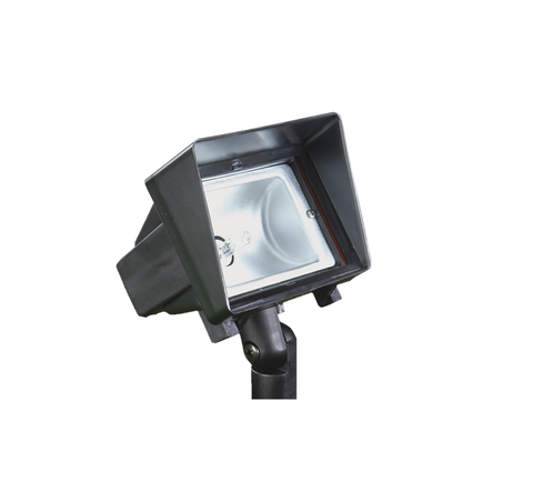 Vista Outdoor Lighting - GR-5203-B-2.5-W-T3 - Small Area Light, Black, Warm - Vista Outdoor Lighting