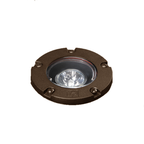 Vista Outdoor Lighting - GW-5262-Z-NL - In-Grade well light, Architectural Bronze, Fixtrue has NO LAMP - Vista Outdoor Lighting