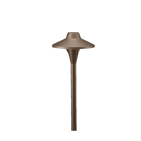 Vista Outdoor Lighting - PR-6507-Z-2.5-W-T3 - 6507 2.5 Watt Architectural Bronze Path Light with Ground Spike - Vista Outdoor Lighting