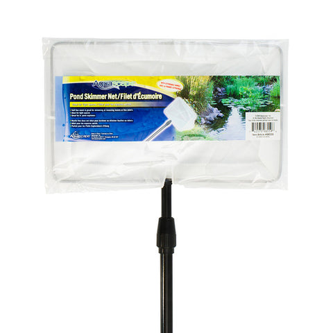 "Aquascape - 98559 - Pond Skimmer Net with Extendable Handle 12"" x 7"" (Small) - Aquascape"