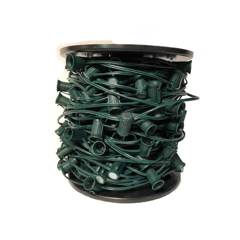 Seasonal Source - Magnetic C9 Socket Wire, 250 Feet, 12 Inch Spacing, SPT1
