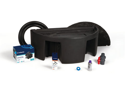 "Atlantic Water Gardens - CFBASINKIT24 - Basin & Pump Kit for 24"" Spillways - Atlantic Water Gardens"