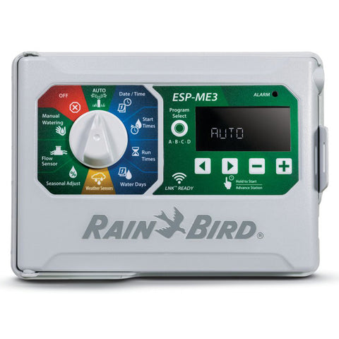 Rain Bird - ES4ME3-LNK  - 4 Station Indoor / Outdoor Wifi Enabled Sprinkler Controller with LNKWIFI