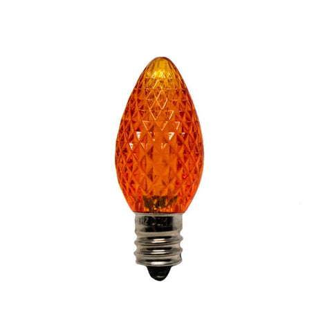 Seasonal Source - LED-C7-ORG-SMD - C7 LED SMD Professional Grade, Orange, Box of 25 - Seasonal Source