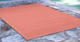 "Liora Manne - TER23176227 - Terrace Texture Indoor/Outdoor Rug Orange 23""X35"" - Liora Manne"