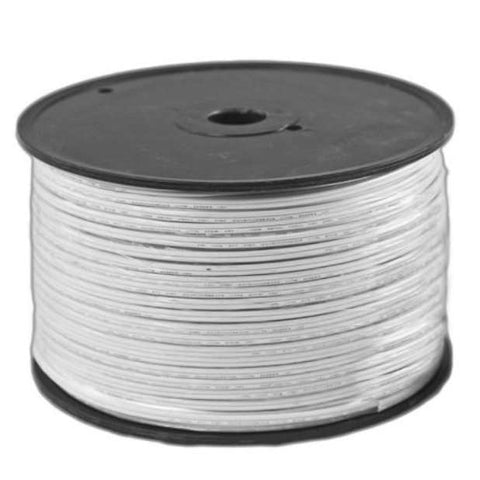 Seasonal Source - WIRE0250-WHT - Blank White Wire, 250', No Sockets, SPT1