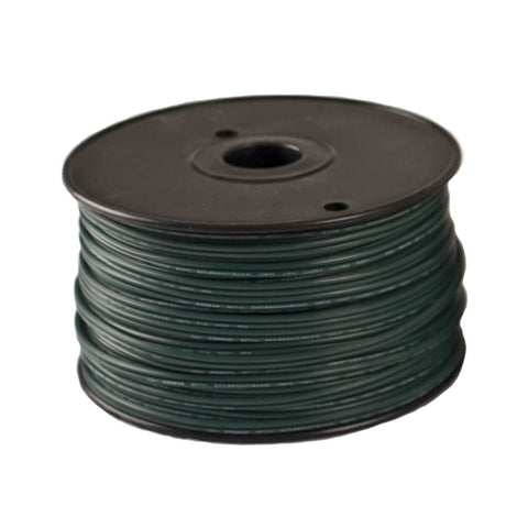 Seasonal Source - WIRE0250-GRN - Blank Green Wire, 250', No Sockets, SPT1